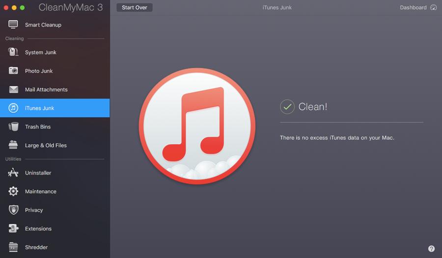 Clean iTunes Junk
