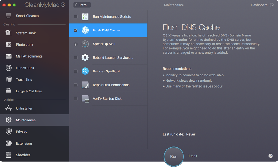 Flush DNS Cache