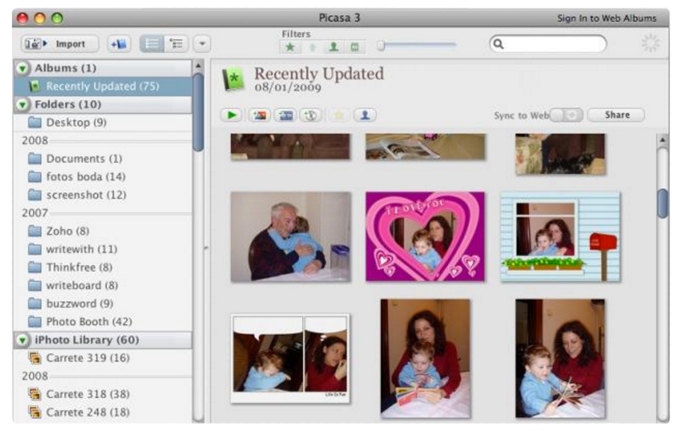 Picasa For Mac Collage App