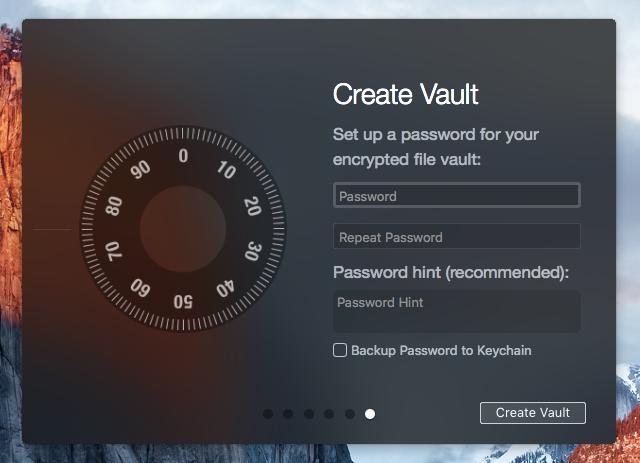 Create Vault