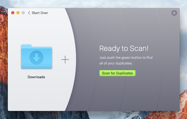 Scan for duplicates on mac