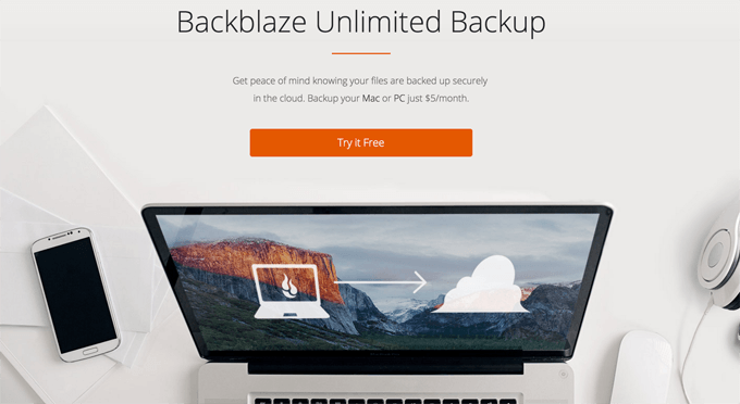 backblaze mac backup solution
