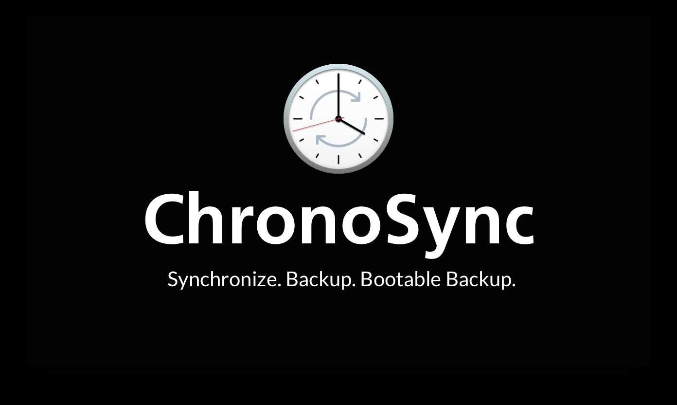 chronosync mac backup software