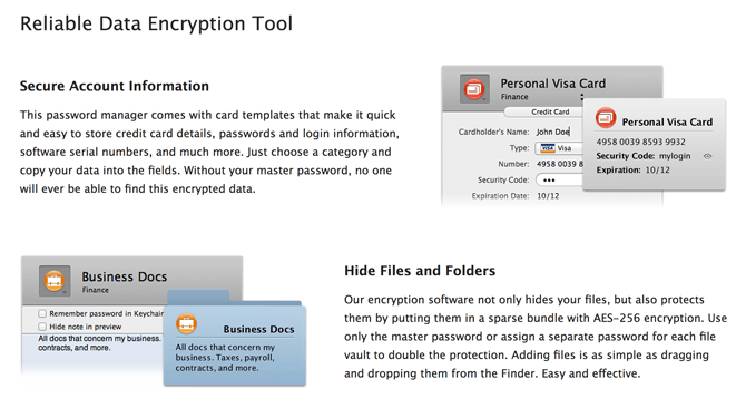 Concealer Mac Data Encryption Tool