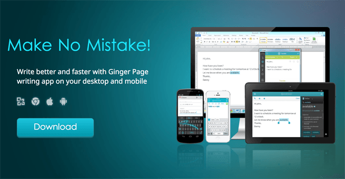 Ginger software grammar checker mac